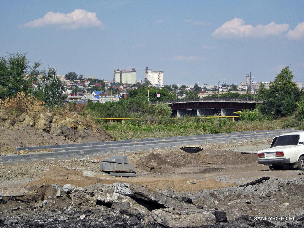 Реконструкция перекрёстка возле старого моста #3 [16 фото]