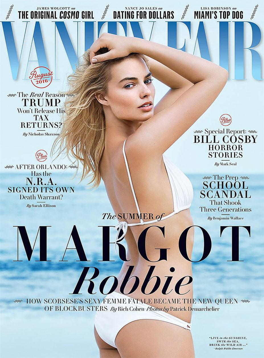 актриса Марго Робби / Margot Robbie by Patrick Demarchelier - Vanity Fair august 2016