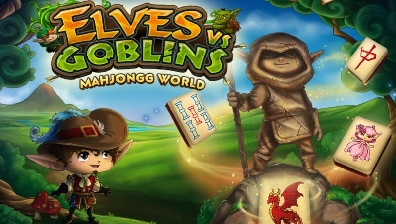 Elves vs Goblins: Mahjongg World