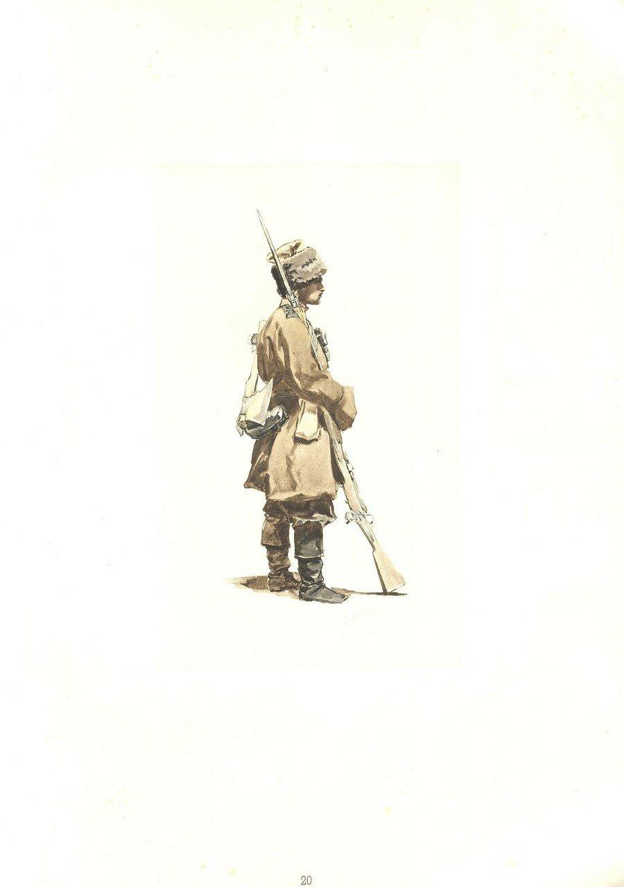 20. Рядовой Севастопольского полка