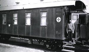 Санитарный поезд No.17.  Палата