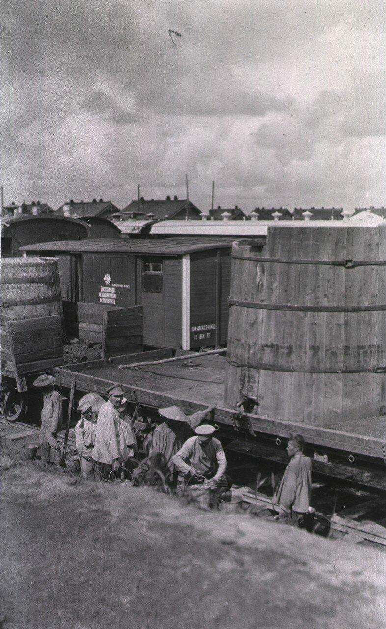 Резервуар для воды, Гангалин
