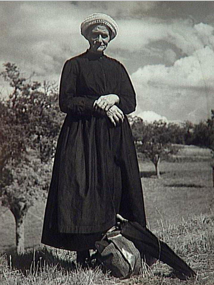 1937. Крестьянка из Берри