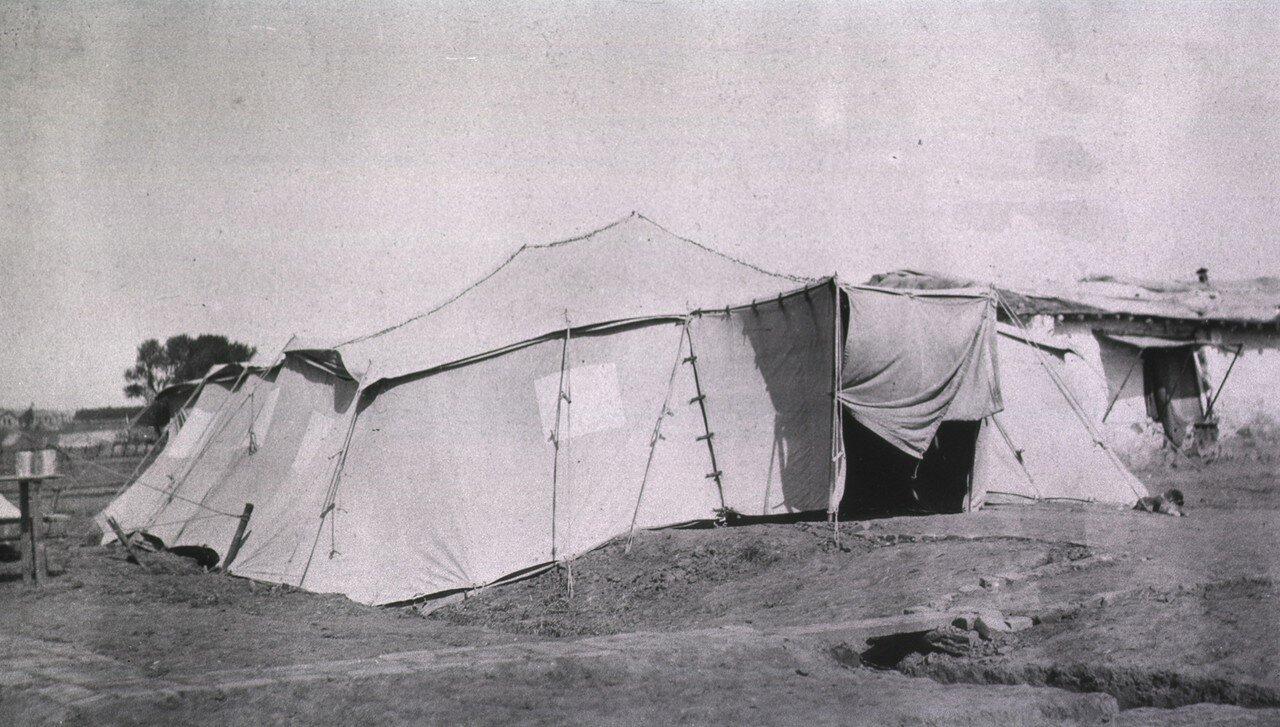 Французская палатка «Le Febre». Гангалин