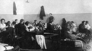 Челябинск. Общежитие учительских курсов. 1923