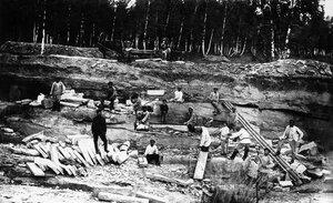Челябинск. Общественные работы для безработных. 1923