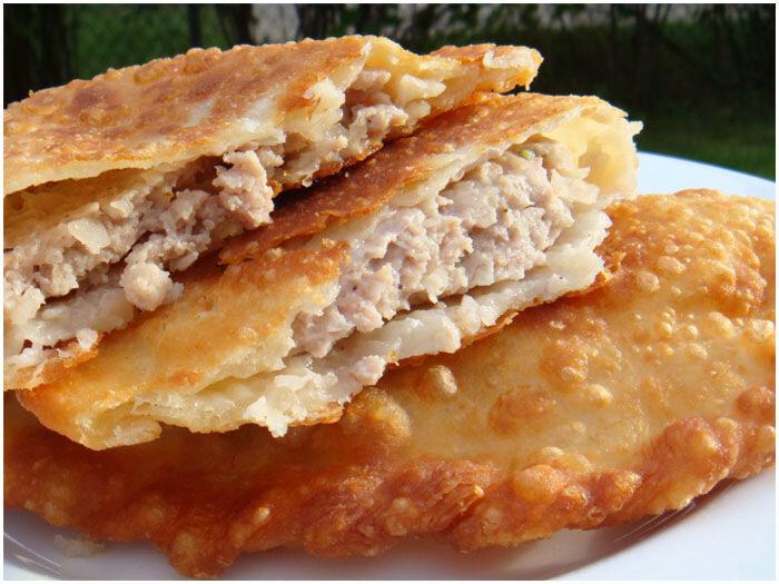 Самое вкусное тесто для чебуреков рецепт пошагово в