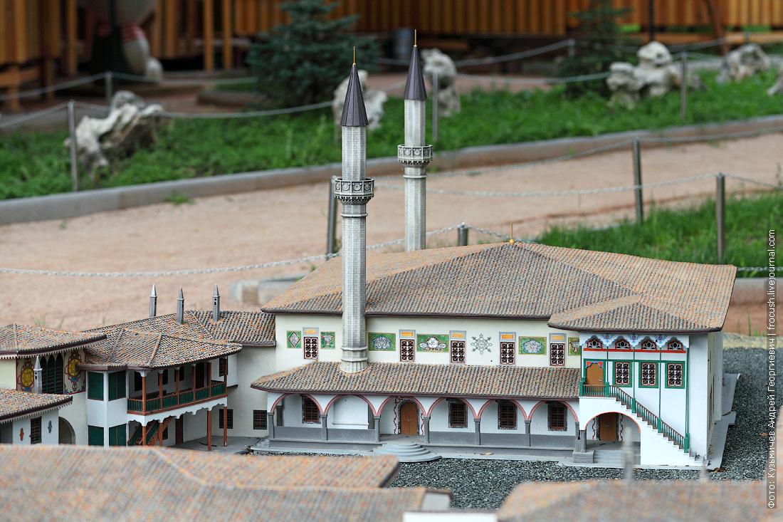 модель Ханский дворец в Бахчисарае