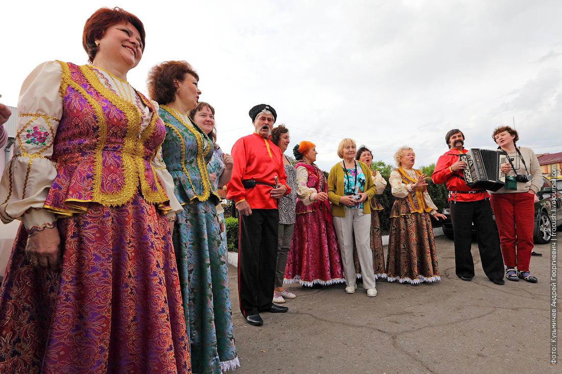 встреча туристов теплохода Русь Великая в Ейске