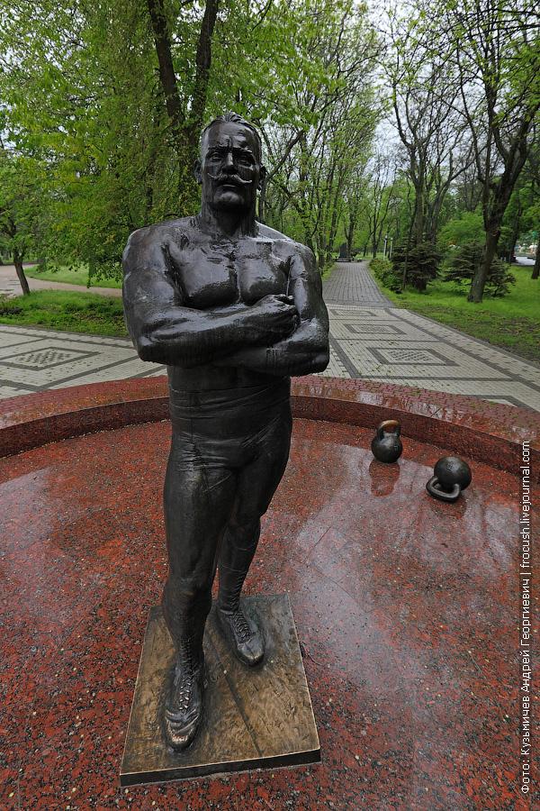 В Ейске прошли последние годы жизни Ивана Максимовича Поддубного