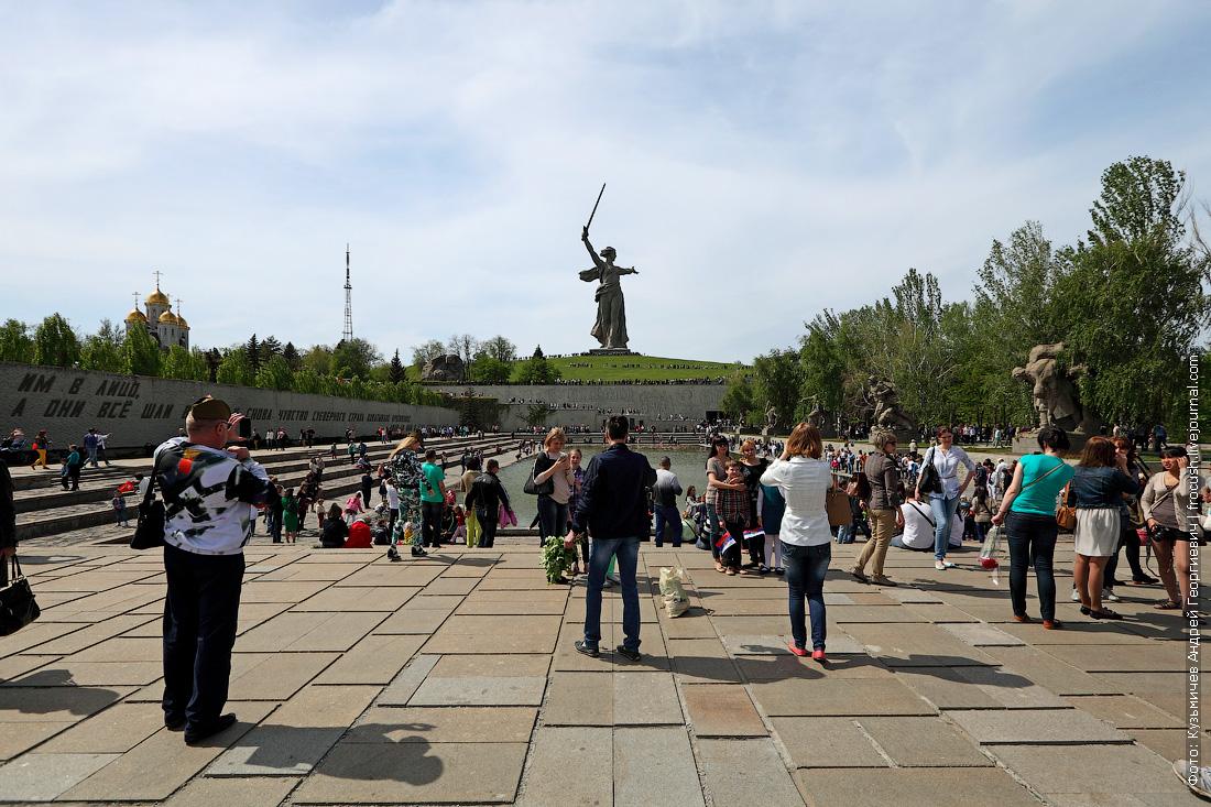 Площадь Героев на Мамаевом кургане