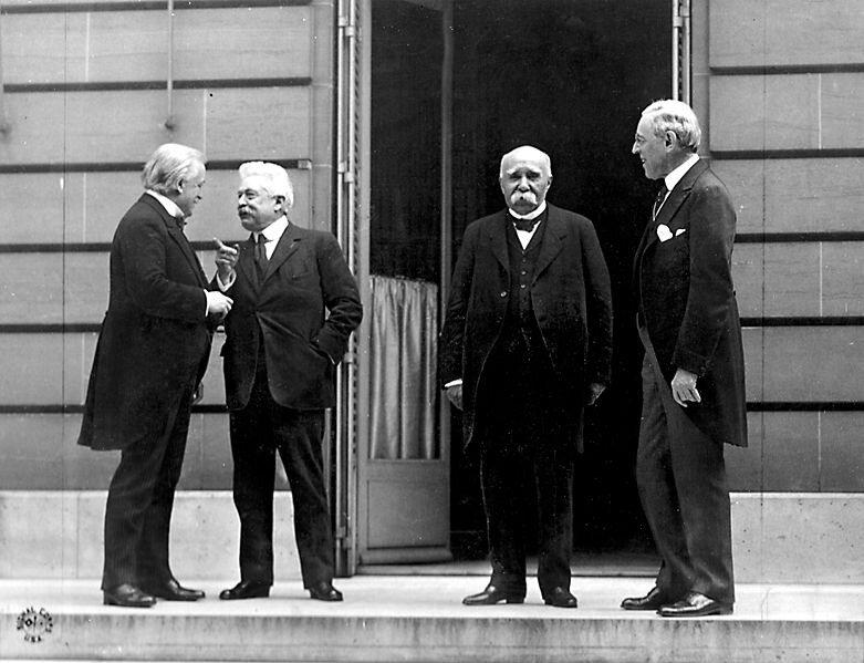 Париж, 27 мая 1919 года. Большая четвёрка.