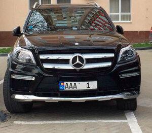 В Кишиневе заметили авто с самым дорогим «элитным» номером