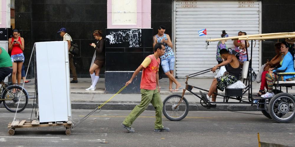 Фото повседневной жизни на Кубе