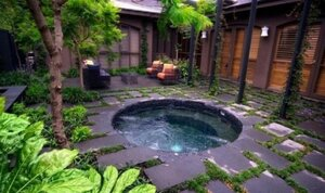 Красивые джакузи с видом на природные красоты