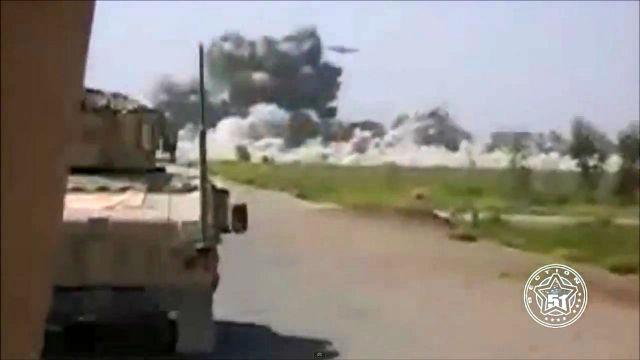 НЛО атакует лагерь талибов