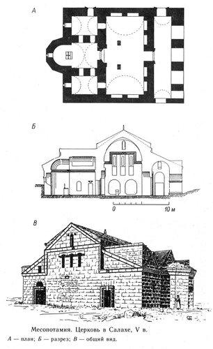 План церкви в Салахе, Месопатамия