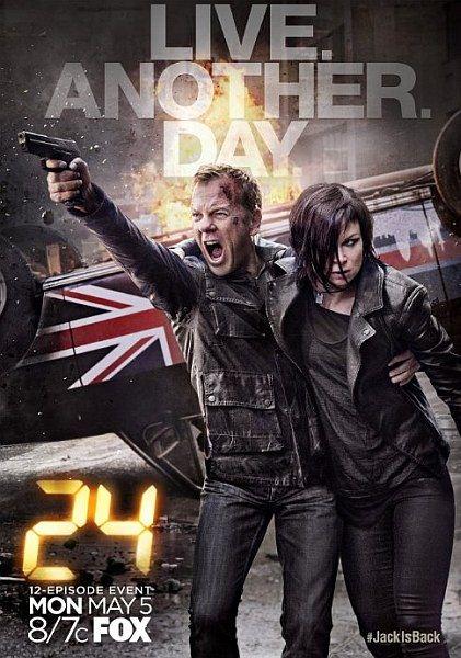 24 часа: Проживи еще один день / 24: Live Another Day (1 сезон/2014/WEB-DLRip)
