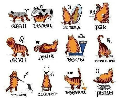 О знаках Зодиака в стихах