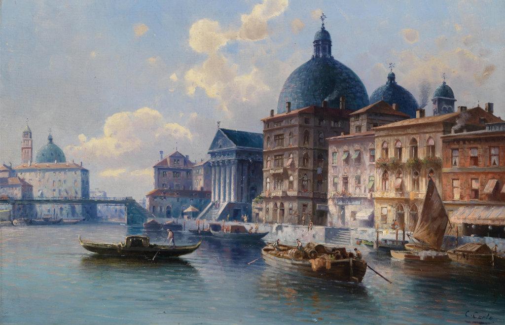 Karl Kaufmann Venedig San Simeone