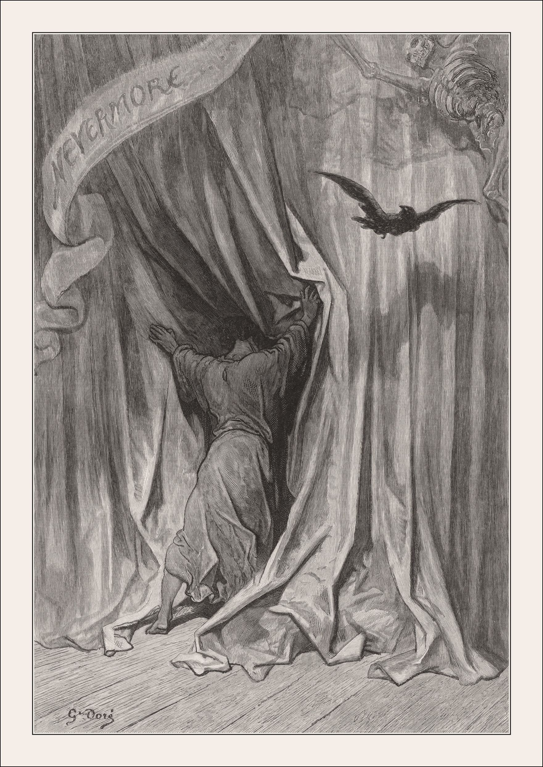Gustave Doré, The Raven