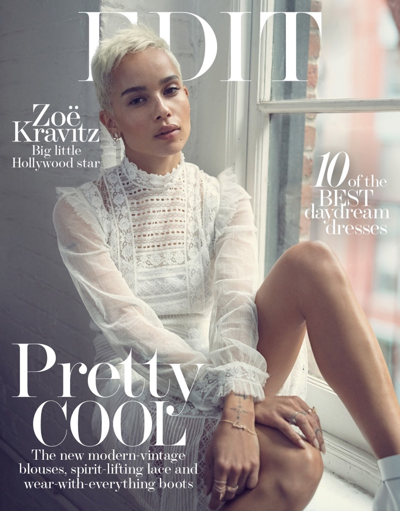 Зоэ Кравитц в The Edit from Net-a-Porter