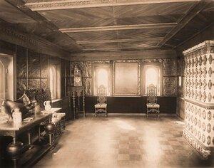 Вид части [трапезной] в палатах бояр Романовых.