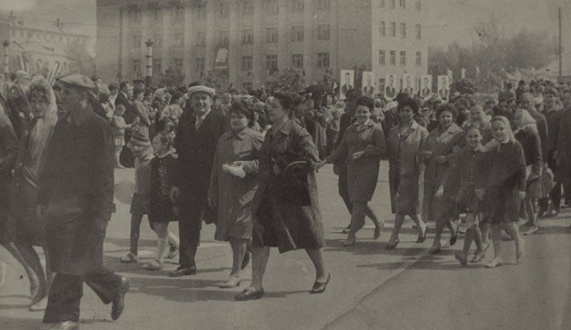 парад-1го-мая-1966-года