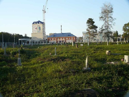 """Типа """"реконструкция"""" старого кладбища продолжается"""