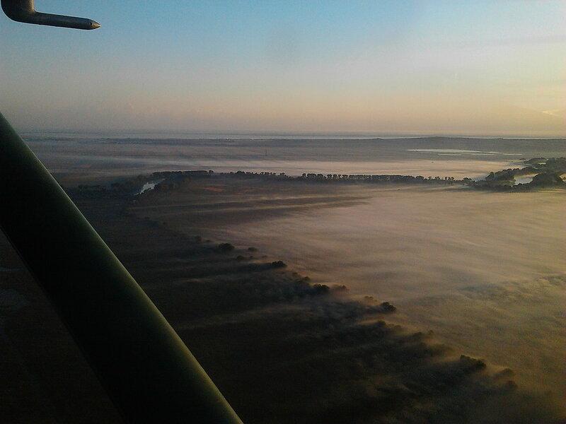 Раннимутром летим домой