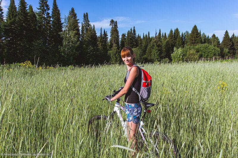 Велопрогулка до деревни Пушкари