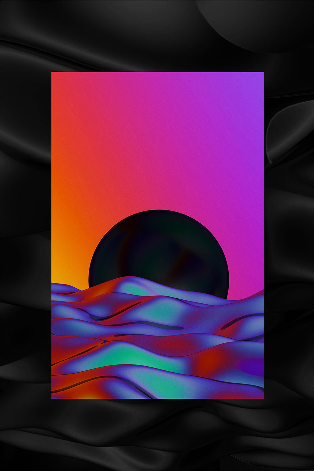 Psychedelic Artworks by Quentin Deronzier