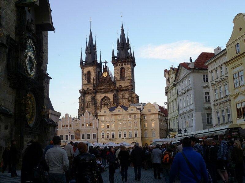Прага, Тынская церковь (Prague, Tyn Church)