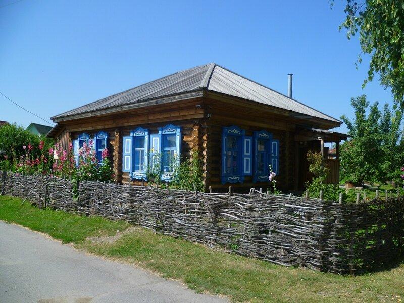 Россия, Сростки - музей Шукшина (Russian, Srostki - Museum of Shukshin)