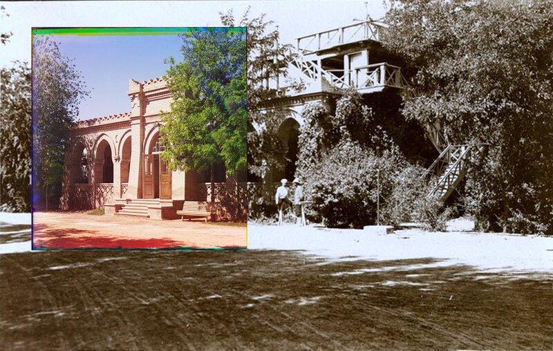 Дом помощника управляющего в Мургабском имении, Байрам-Али, 1911 г.