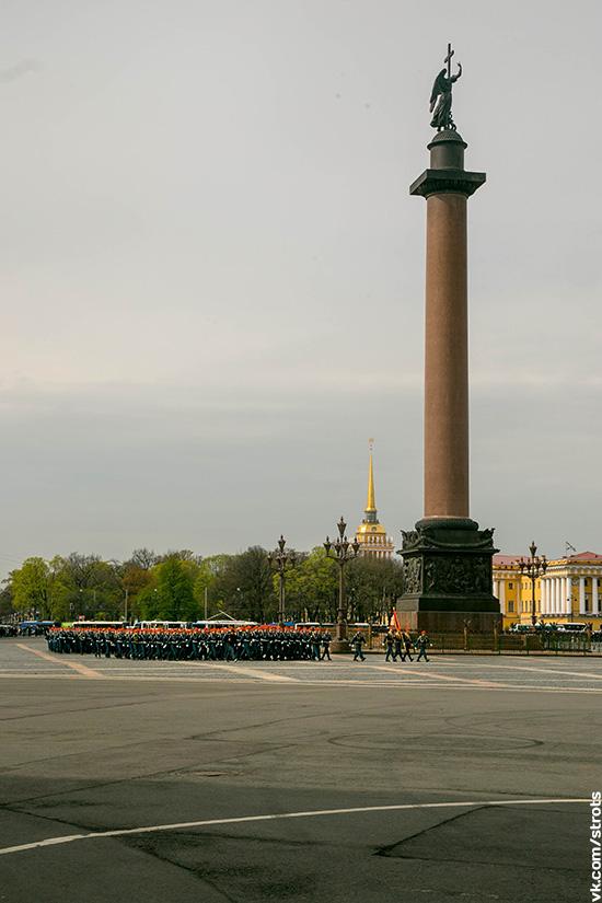 Петербург 9 мая