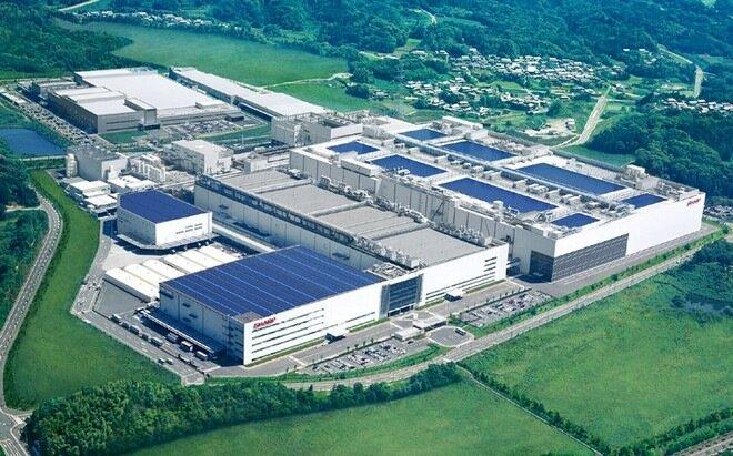 Завод телевизоров Sharp Камеяма.