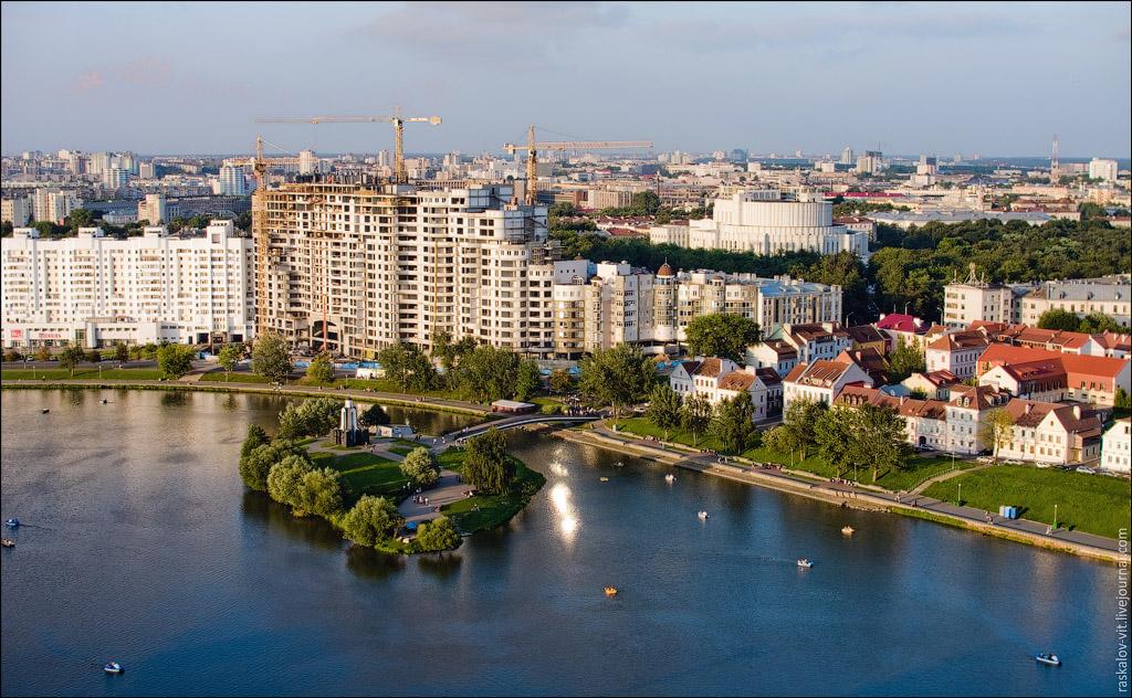 Остров слёз и река Свислочь