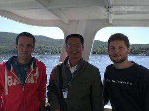Фото с китайским коллегой Тонгом Чангкингом.