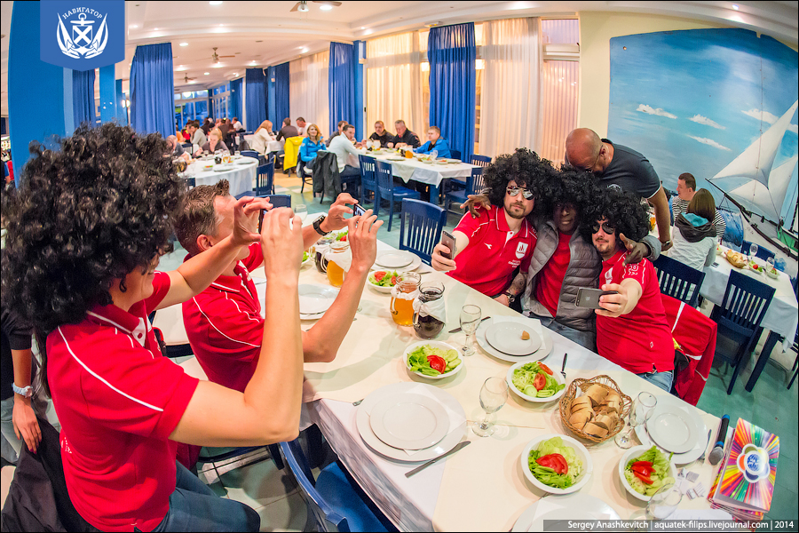 Русские на регате в Хорватии