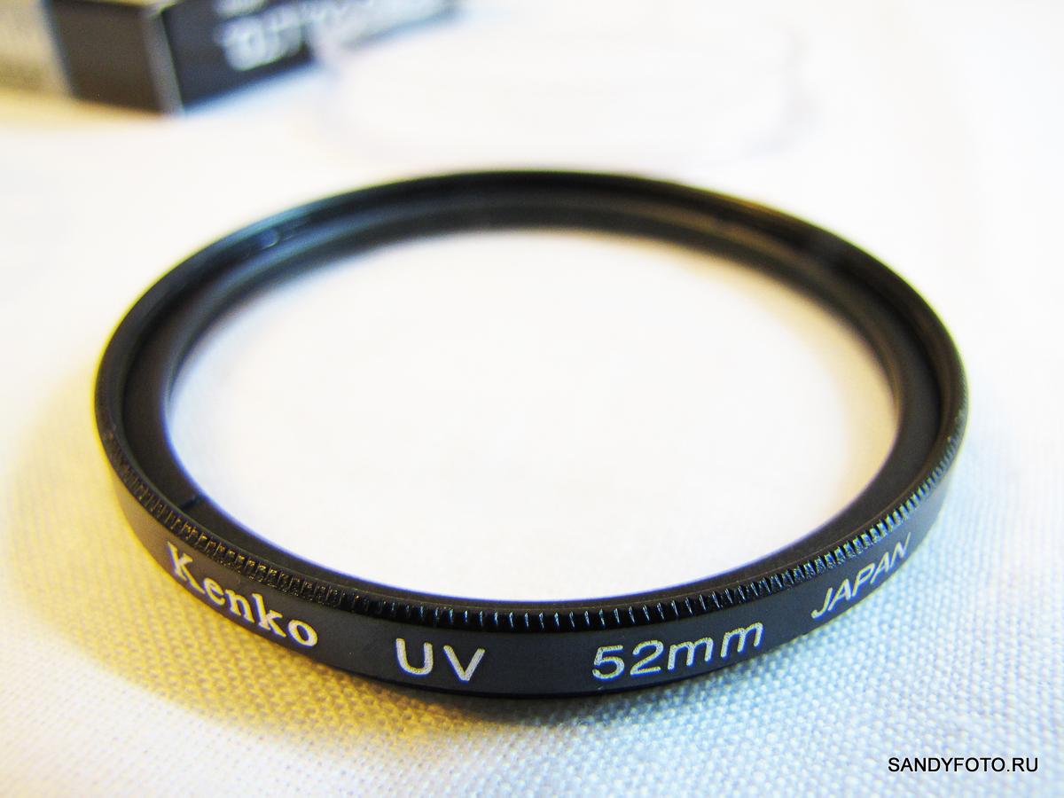 Обзор UV фильтра 52мм из магазина miniinthebox.com