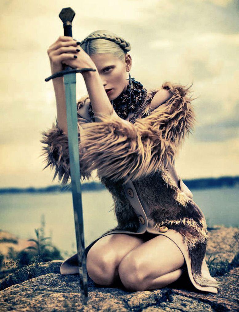 модель Эбби Ли Кершоу / Abbey Lee Kershaw, фотограф Sebastian Kim