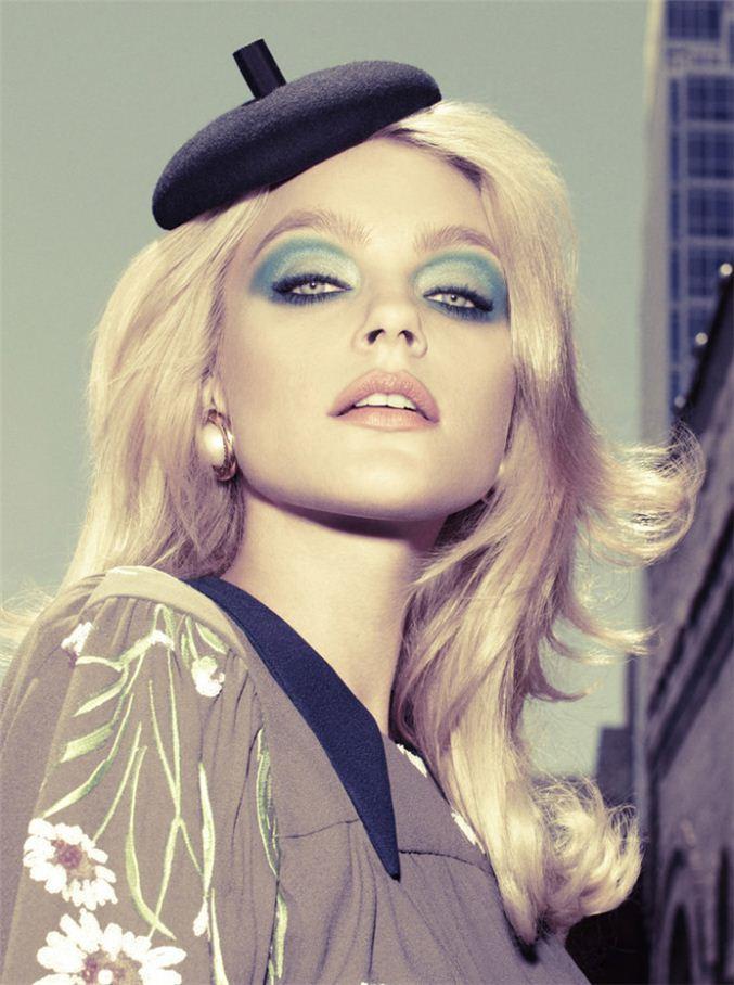 модель Джессика Стэм / Jessica Stam, фотограф Alexi Lubomirski