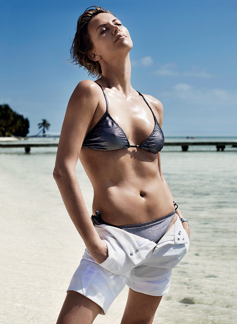 Шарлиз Терон / Charlize Theron by Mario Testino in Vogue US june 2014