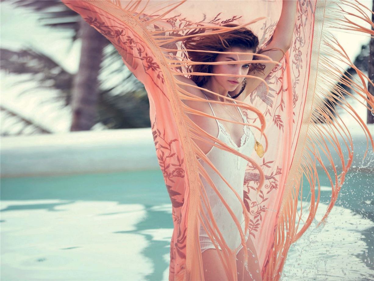 Барбара Палвин / Barbara Palvin by David Bellemere in Marie Claire Italy may 2014