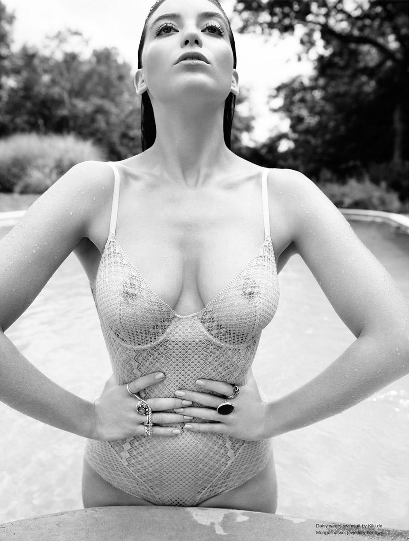 голая Дэйзи Лоу / Daisy Lowe by Catherine Servel - Ponystep No7, весна-лето 2015