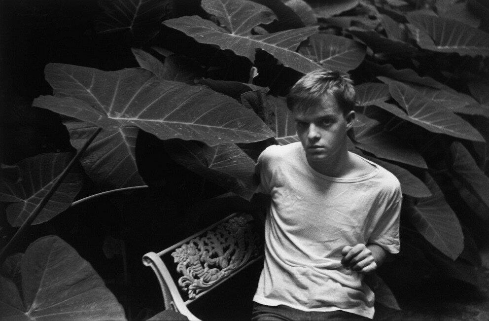 Truman Capote, 1947 by Cartier Bresson