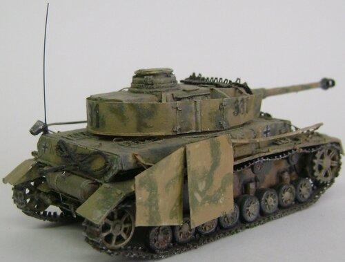 H Бумажная модель танка Pz.IV