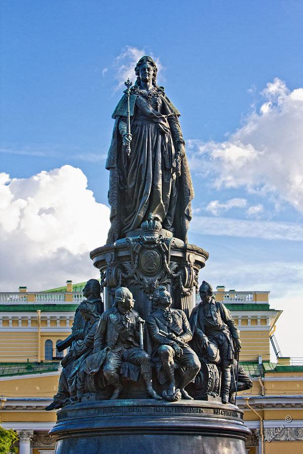 Санкт-Петербург, памятник Екатерине II