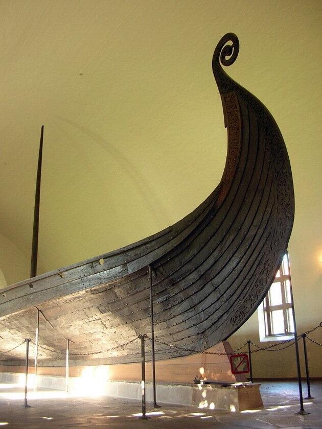 Музей кораблей викингов (Vikingskipshuset). Осло, Норвегия